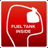 fuel tank inside