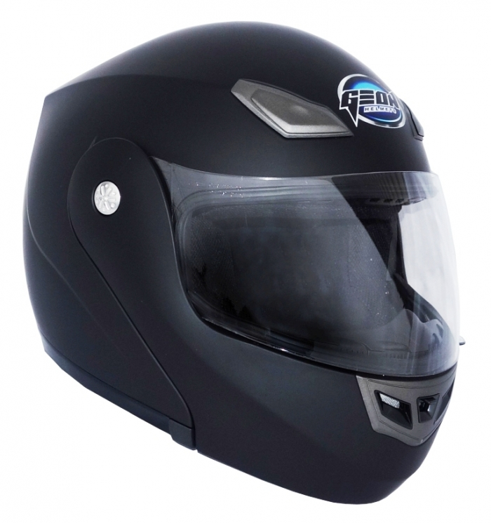 Шлем GEON 936 Модуляр черный-мат