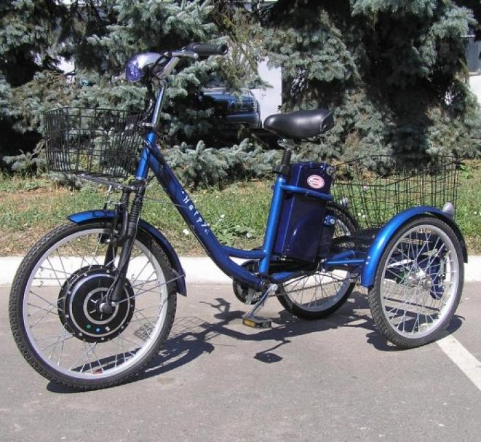 Электорвелосипед SKYMOTO HAPPY (трицикл)