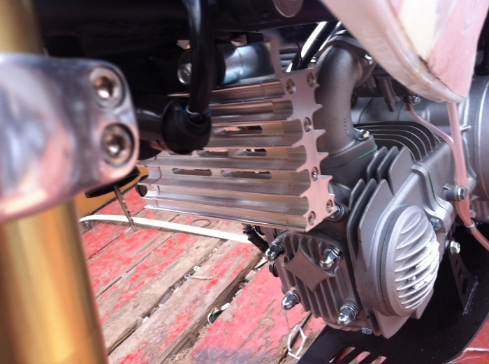 Питбайк KAYO CRF801-7L Classic 14/12 140cc