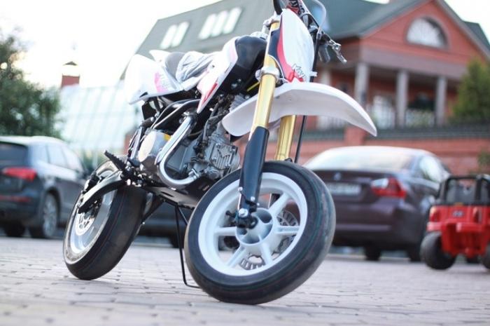 Питбайк KAYO CRF801-7L Motard Classic 12/12 140cc