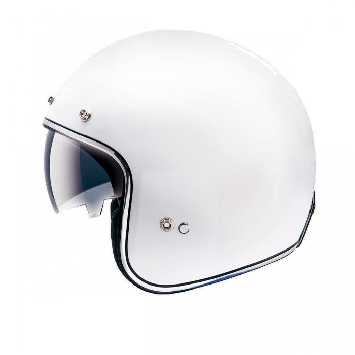 MT Helmets Le Mans SV Solid white