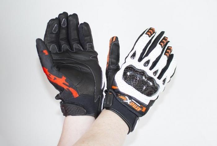 Мотоперчатки кожаные Atrox CITY
