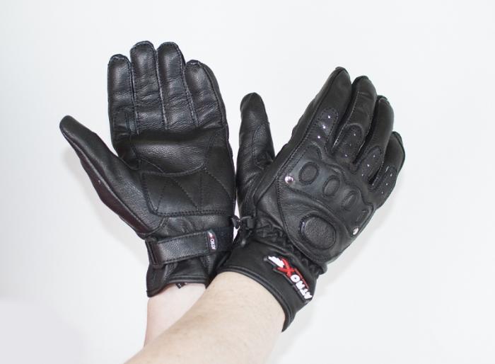 Мотоперчатки кожаные Atrox CLASSIC CHOPPER BLACK NEW