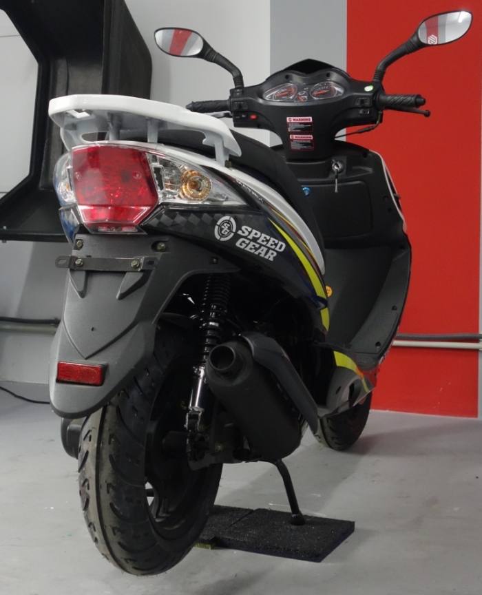 скутер speed gear matrix