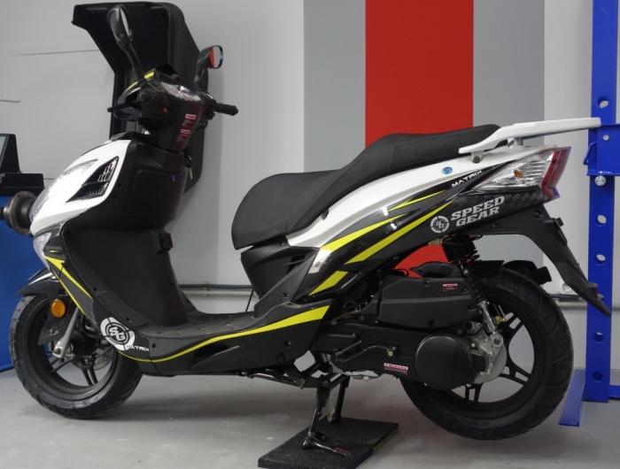 скутер speed gear matrix 150