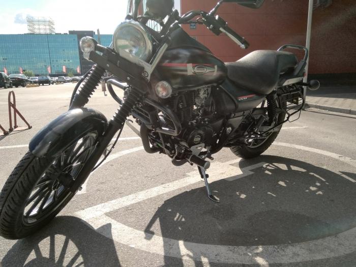 мотоцикл bajaj avenger