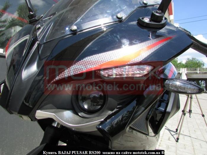 мотоцикл bajaj pulsar 200rs