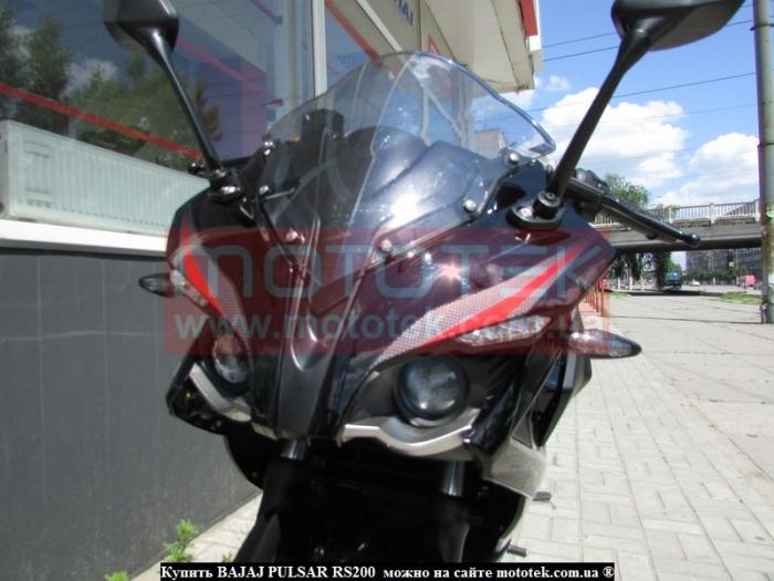 мотоцикл bajaj pulsar 200