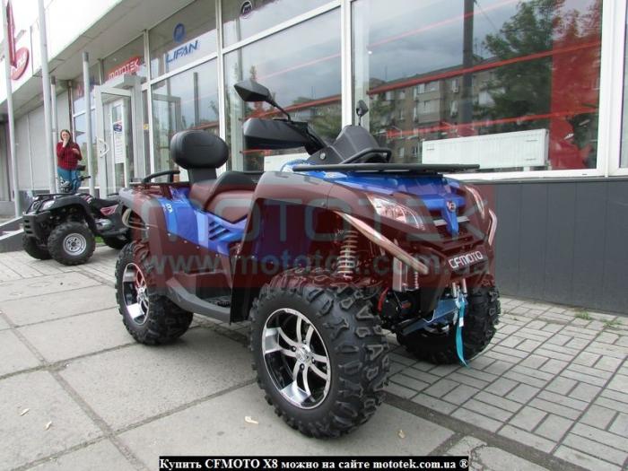 купить cf moto x8