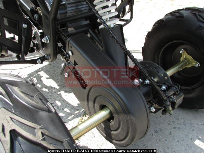 электроквадроцикл hamer 1000 отзывы