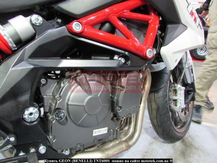 GEON (BENELLI) TNT600S максимальная скорость