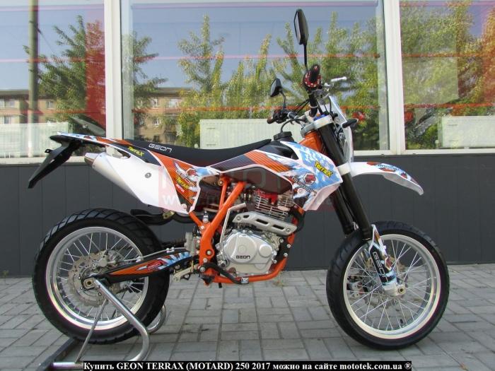 geon terrax 250 motard характеристики