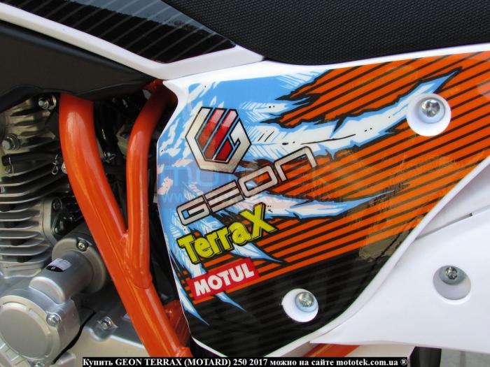 geon terrax motard 250 характеристики