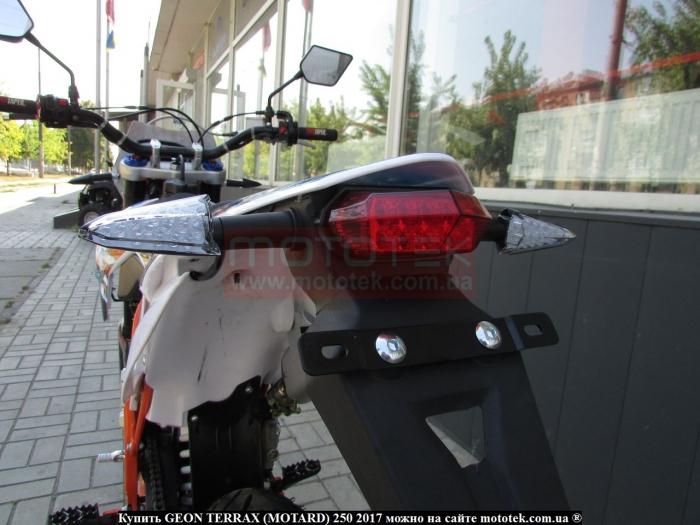 terrax motard 250 характеристики