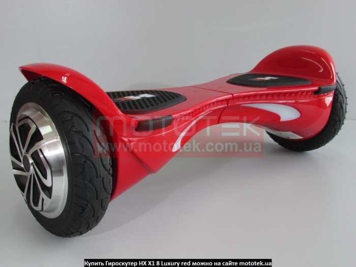Гироскутер HX X1 8 Luxury red