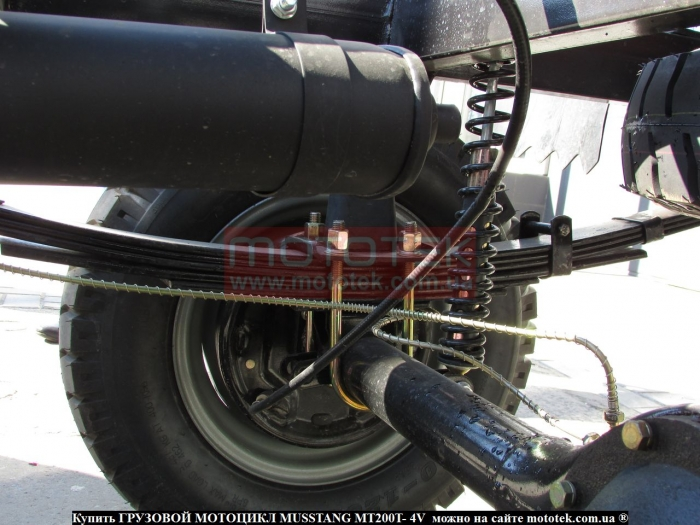 трехколесный грузовой мотоцикл