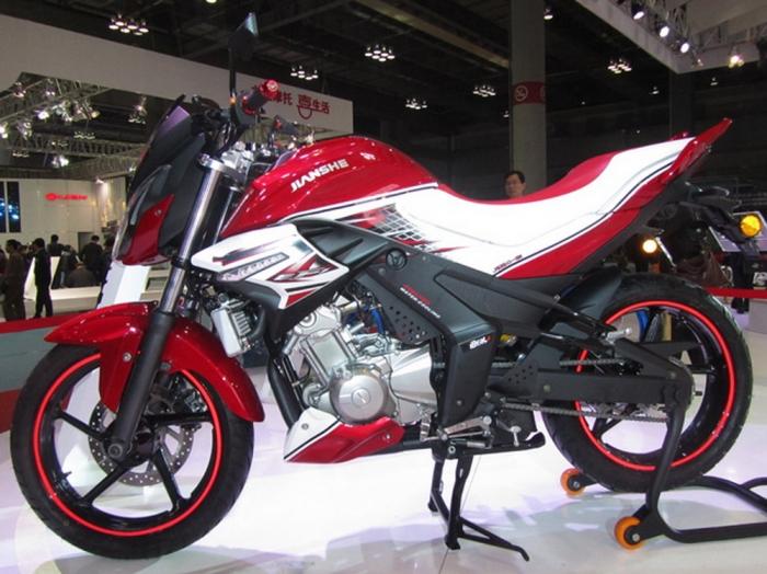 мотоцикл jianshe