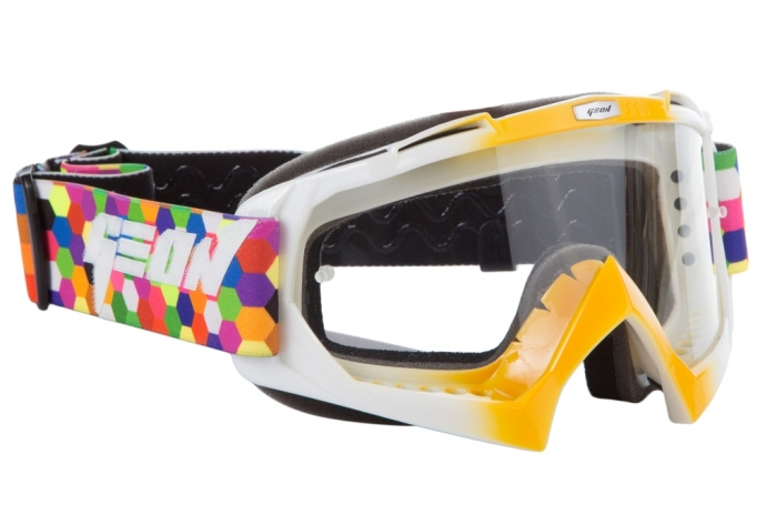 Кроссовые очки Geon Lykan GN16 Orange White
