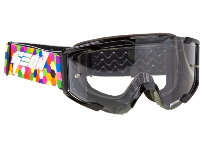 Кроссовые очки Geon Lykan GN90 Black