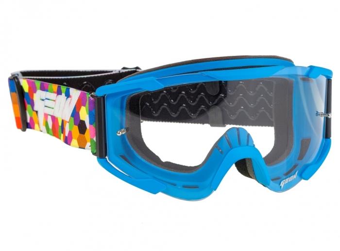 Кроссовые очки Geon Lykan GN90 blue