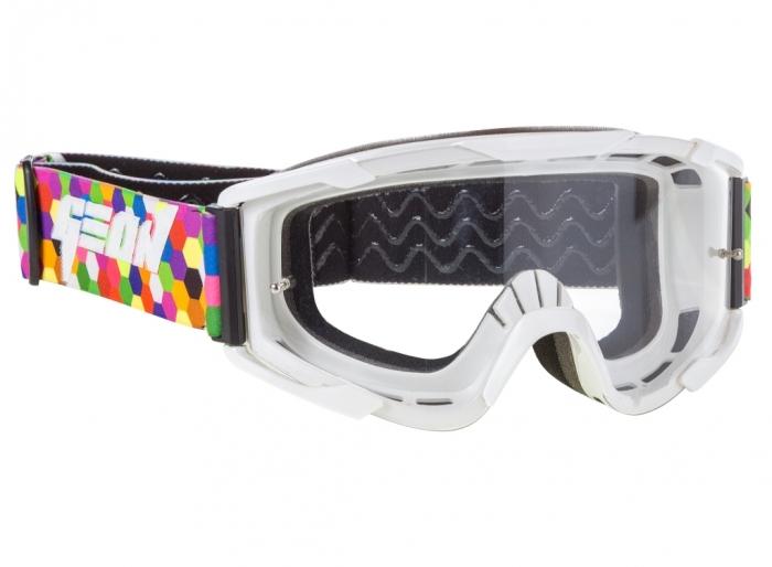 Кроссовые очки Geon Lykan GN90 White