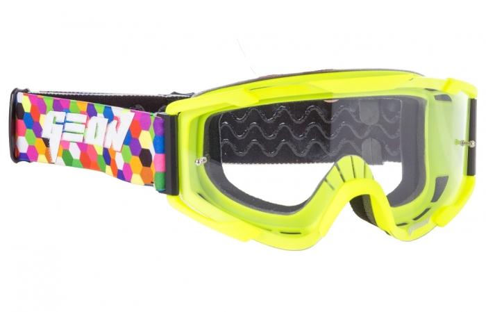 Кроссовые очки Geon Lykan GN90 Yellow