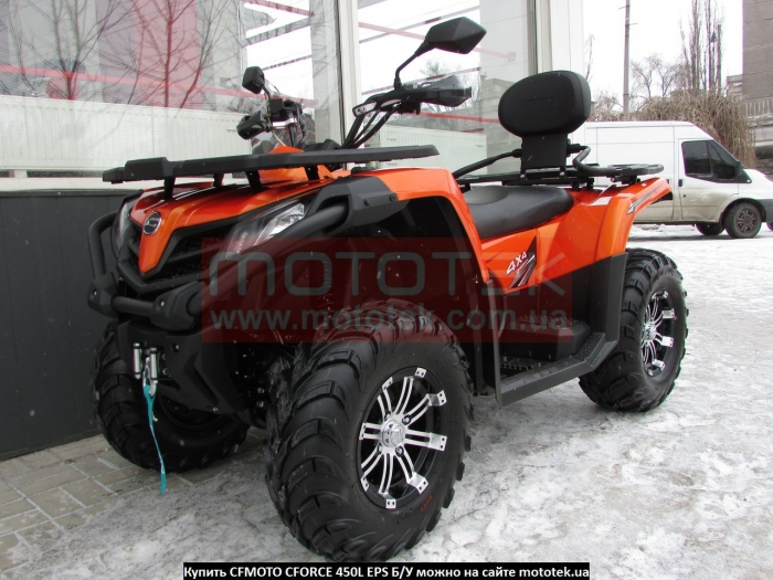 Квадроцикл CFMOTO CFORCE 450L EPS с Пробегом