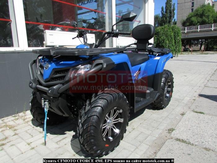 cf moto 450