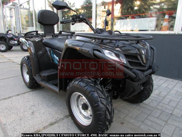CF Moto Gladiator 450 EFi