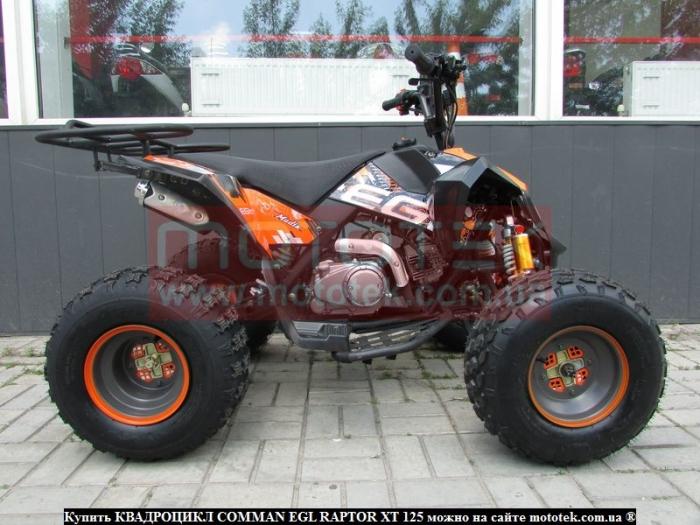 Comman Egl Raptor xt125 цена