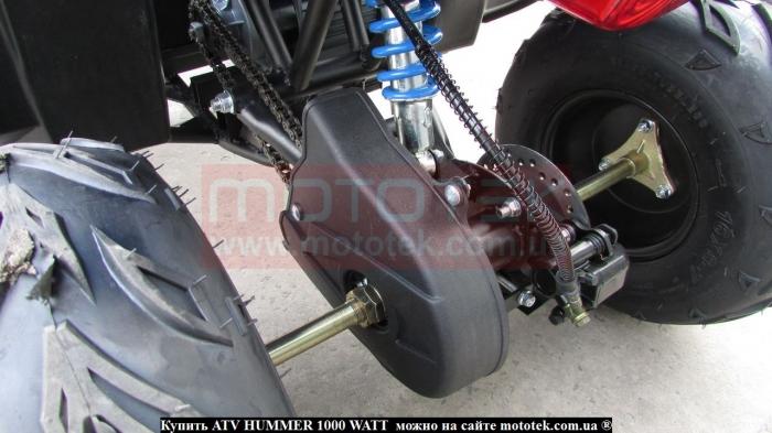 квадроцикл электро atv hummer 1000w