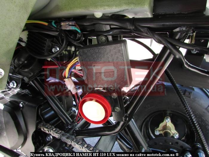 Квадроцикл Hamer HT-110 Lux