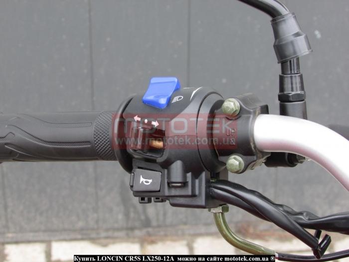 мотоцикл loncin CR5S