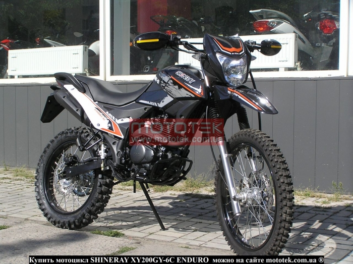 SHINERAY XY200GY-6C ENDURO