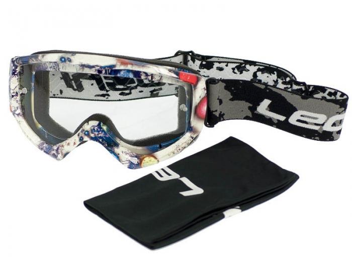 Кроссовые очки Leoshi Galaxy