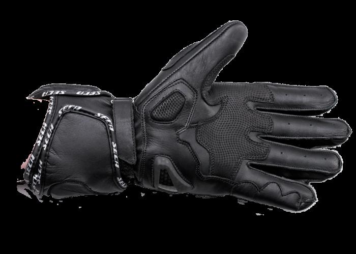 Мотоперчатки Seca Atom II black купить днепр