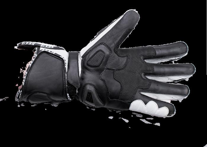 Мотоперчатки Seca Atom II white цена