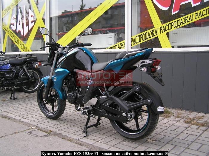Yamaha FZS 153cc FI видео