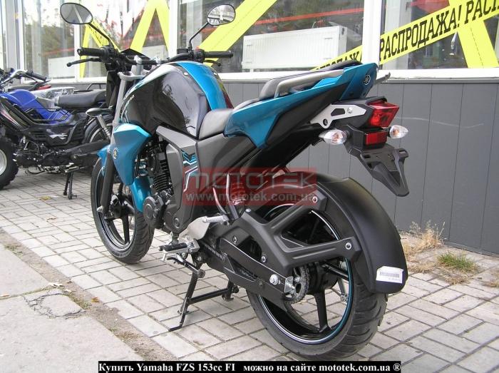 Yamaha FZS 153cc FI характеристики