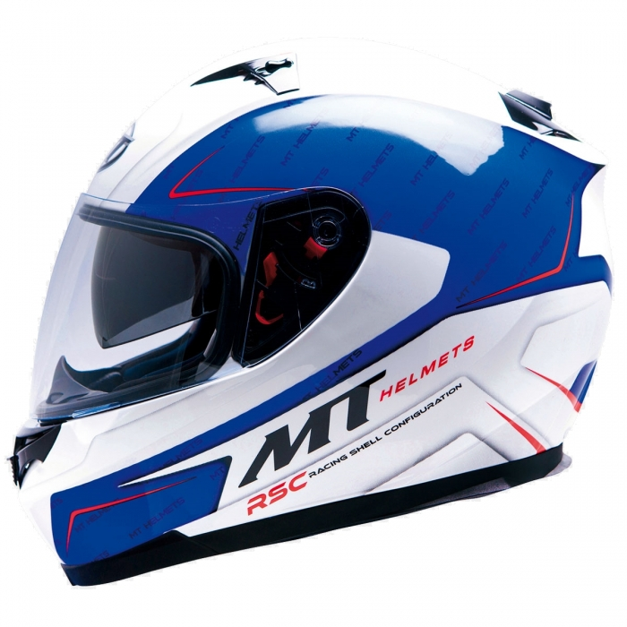 MT Helmets BLADE SV Boss blue/white
