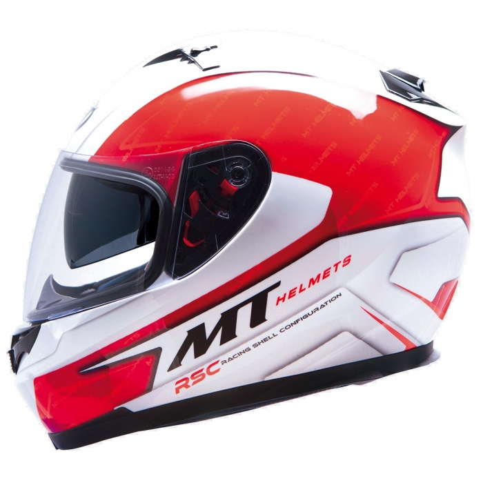MT Helmets BLADE SV Boss red/white