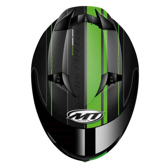 MT Helmets BLADE SV Raceline matt black/fluor green