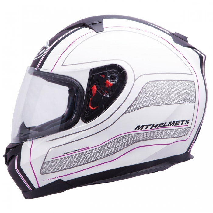 MT Helmets BLADE SV Raceline matt black/pink