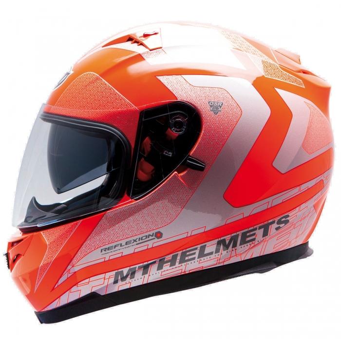 MT Helmets BLADE SV REFLEXION fluor orange