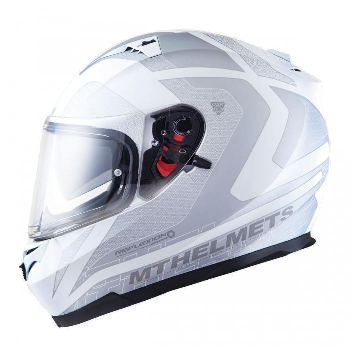MT Helmets BLADE SV REFLEXION gloss white