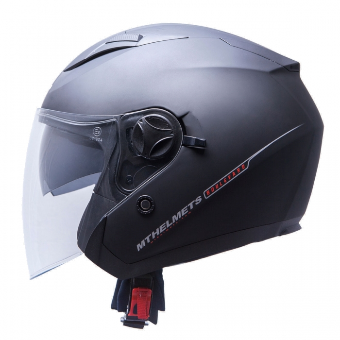 MT Helmets Bolevard Solid matt black
