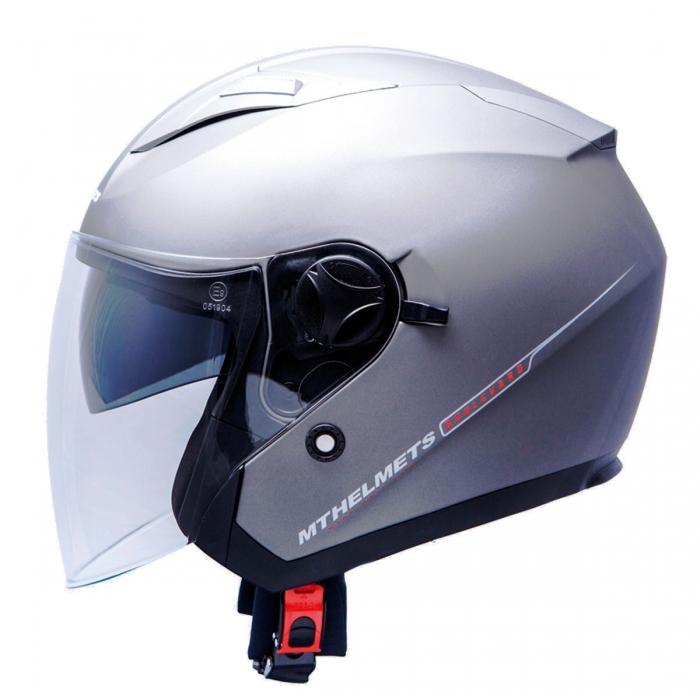 MT Helmets Bolevard Solid titanium