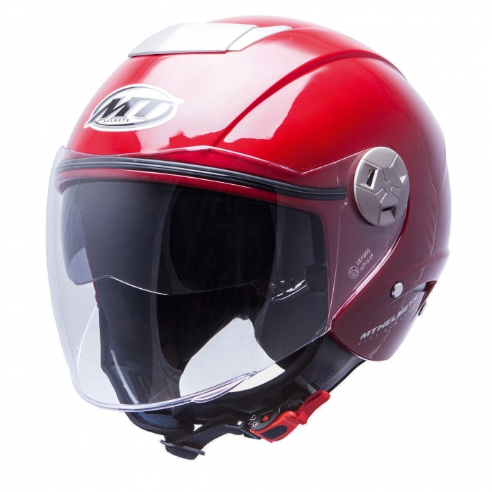MT Helmets City Eleven Solid burdeos купить