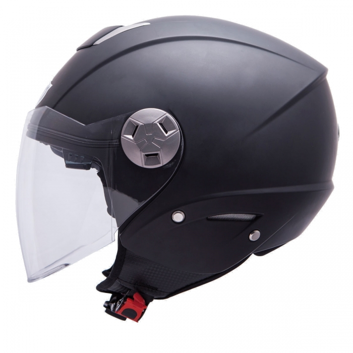 MT Helmets City Eleven Solid matt black